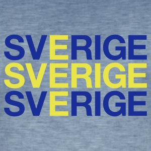 SWEDEN - Men's Vintage T-Shirt