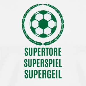 Supertore, Superspiel, Supergeil - Männer Premium T-Shirt