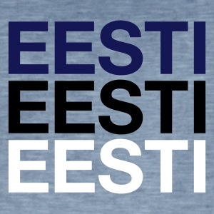 ESTONIA  - Men's Vintage T-Shirt