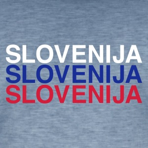 SLOVENIA  - Men's Vintage T-Shirt