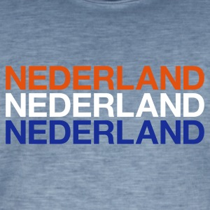 NETHERLANDS  - Men's Vintage T-Shirt