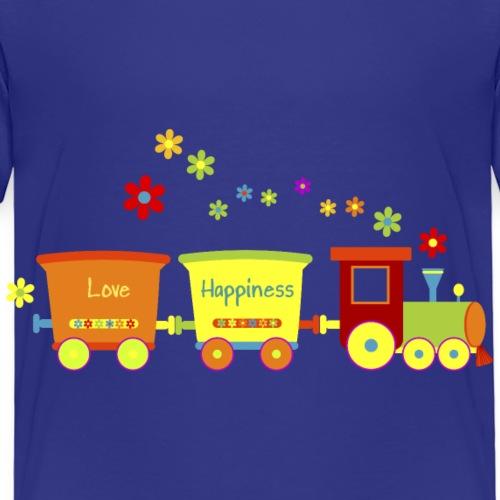 Eisenbahn Kinderspielzeug Zug Frühlingsblumen