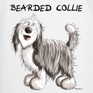 Sweet Bearded Collie  Aprons - Cooking Apron