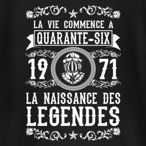 1971 - 46 ans - Légendes - 2017 Tee shirts manches longues Bébés - T-shirt manches longues Bébé