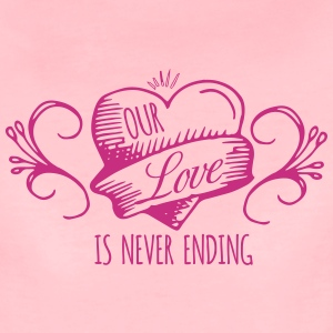 Our love - Frauen Premium T-Shirt