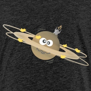 confused saturn T-Shirts - Kinder Premium T-Shirt