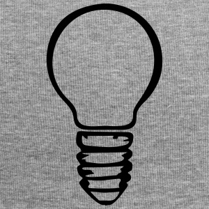 Light bulb (1 color) Kasketter & huer - Jersey-Beanie