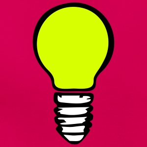 Light bulb (3 colors) T-shirts - T-shirt dam