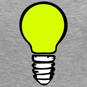 Light bulb (3 colors) Long Sleeve Shirts - Women's Premium Longsleeve Shirt