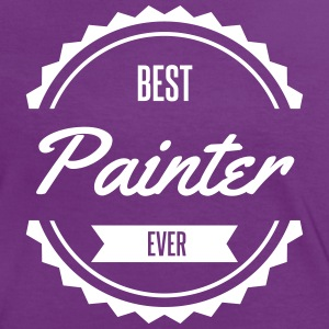 best painter Tee shirts - T-shirt contraste Femme