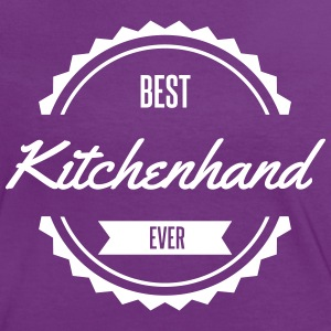 best kitchenhand Tee shirts - T-shirt contraste Femme