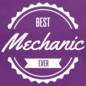 best mechanic Tee shirts - T-shirt contraste Femme
