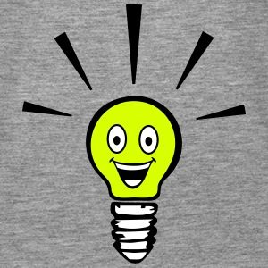 Light bulb with smiley - big idea Toppe - Dame Premium tanktop
