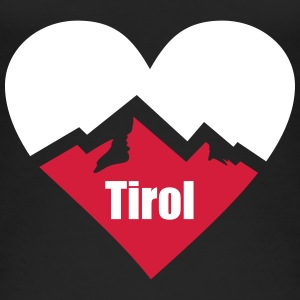 Tirol Alps Heart Tops - Women's Organic Tank Top