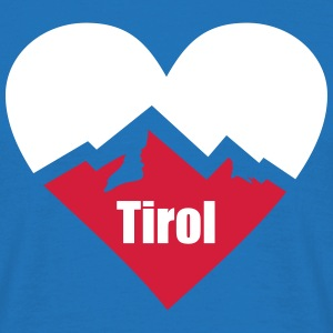 Tirol Alps Heart T-Shirts - Men's T-Shirt