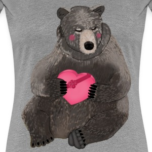 Valentine bear t-shirt for women - Women's Premium T-Shirt