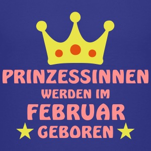 Prinzessinnen Februar T-Shirts - Teenager Premium T-Shirt