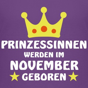Prinzessinnen November T-Shirts - Kinder Premium T-Shirt