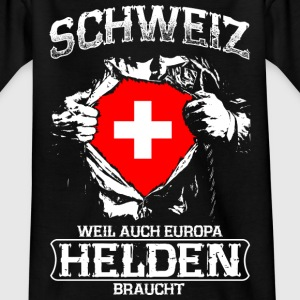 Switzerland - heroes - Europe Shirts - Teenage T-shirt