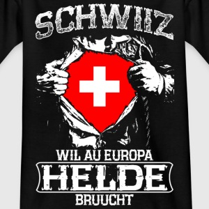 Schwiiz - Europa - Helde Shirts - Teenage T-shirt