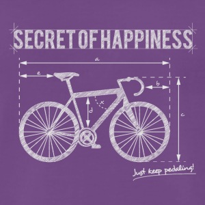 Secret of Happiness - Männer Premium T-Shirt