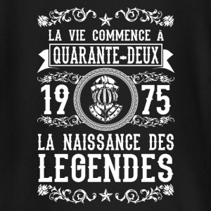 1975 - 42 ans - Légendes - 2017 Tee shirts manches longues Bébés - T-shirt manches longues Bébé
