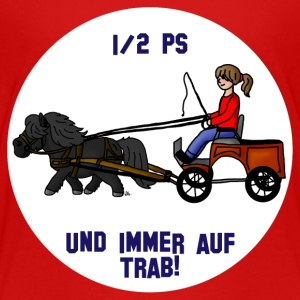 Auf Trab - Teenager Premium T-Shirt