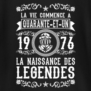 1976 - 41 ans - Légendes - 2017 Tee shirts manches longues Bébés - T-shirt manches longues Bébé