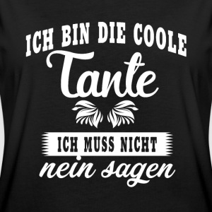 cool tante T-shirts - Vrouwen oversize T-shirt