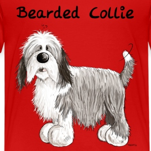 Grattis Bearded Collie T-shirts - Premium-T-shirt barn