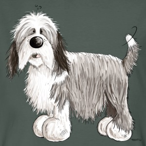 Der Bearded Collie T-Shirts - Männer Bio-T-Shirt