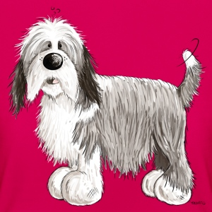 Den Bearded Collie T-shirts - T-shirt dam