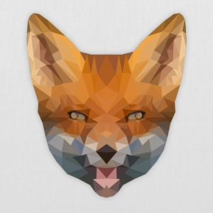 Low Poly Fox Bag - Stoffbeutel