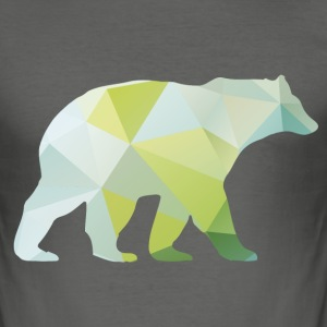 Bär Bear T-shirt cool T-Shirts - Männer Slim Fit T-Shirt