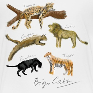 Big Cats - Kids' Premium T-Shirt