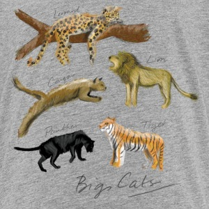 Big Cats - Teenage Premium T-Shirt