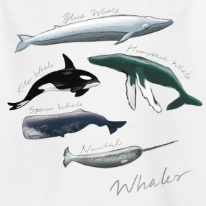 Whales - Teenage T-shirt