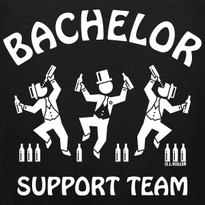 Bachelor Support Team / Beer Drinkers (Stag Party) Sports wear - Men's Premium Tank Top