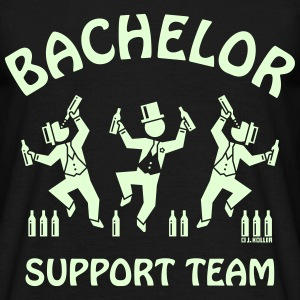 Bachelor Support Team / Beer Drinkers (Stag Party) T-Shirts - Men's T-Shirt