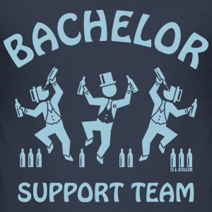 Bachelor Support Team / Beer Drinkers (Stag Party) T-Shirts - Men's Slim Fit T-Shirt
