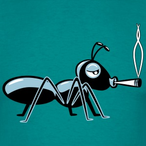 Kiffen joint ant T-Shirts - Men's T-Shirt