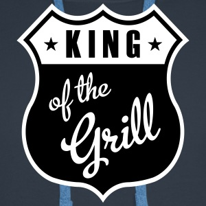 King of the Grill Pullover & Hoodies - Männer Premium Hoodie