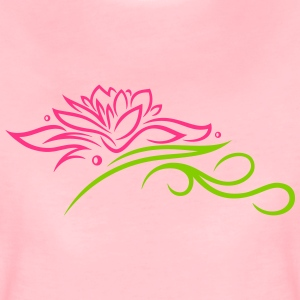 Lotus mit Tribal T-Shirts - Women's Premium T-Shirt