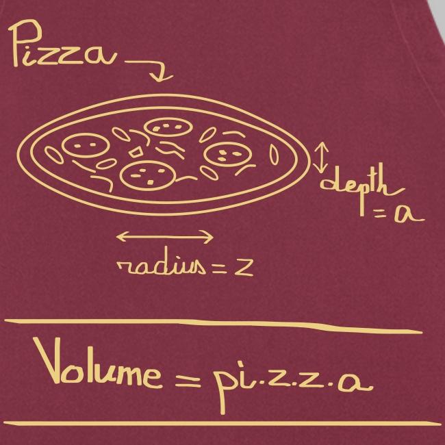 Tablier Pi.z.z.a