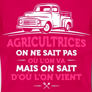 agricultrice agriculture - T-shirt Femme