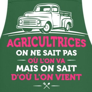 agricultrice agriculture - Tablier de cuisine