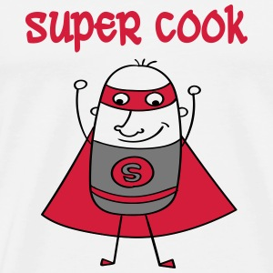 Super cook T-shirts - Herre premium T-shirt