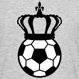 Football, Soccer King (2 colors) T-shirts - T-shirt herr