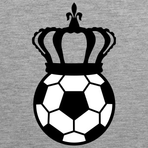 Football, Soccer King (2 colors) Sportkläder - Premiumtanktopp herr