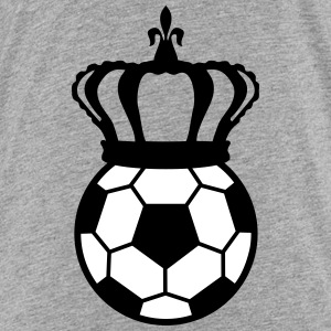 Football, Soccer King (2 colors) Tee shirts - T-shirt Premium Enfant